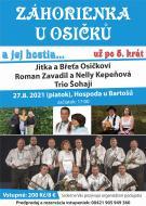 Záhorienka a manželia Osičkovi si vás dovoľujú pozvať už 5. krát na tradičné stretnutie Záhorienky a jej hostí v hospode u Bartošú v Lanžhote