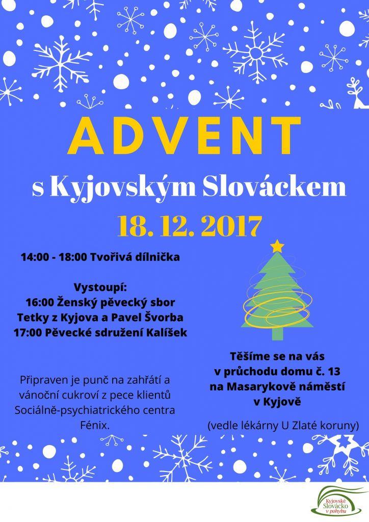 PLAKÁT - Advent S Kyjovským Slováckem