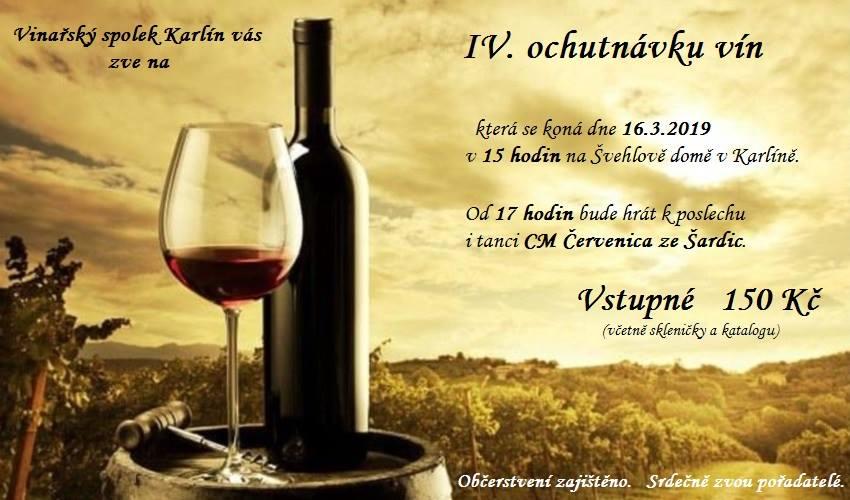 Ochutnávka vín 2019