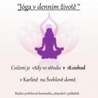 Jóga v denním životě 1